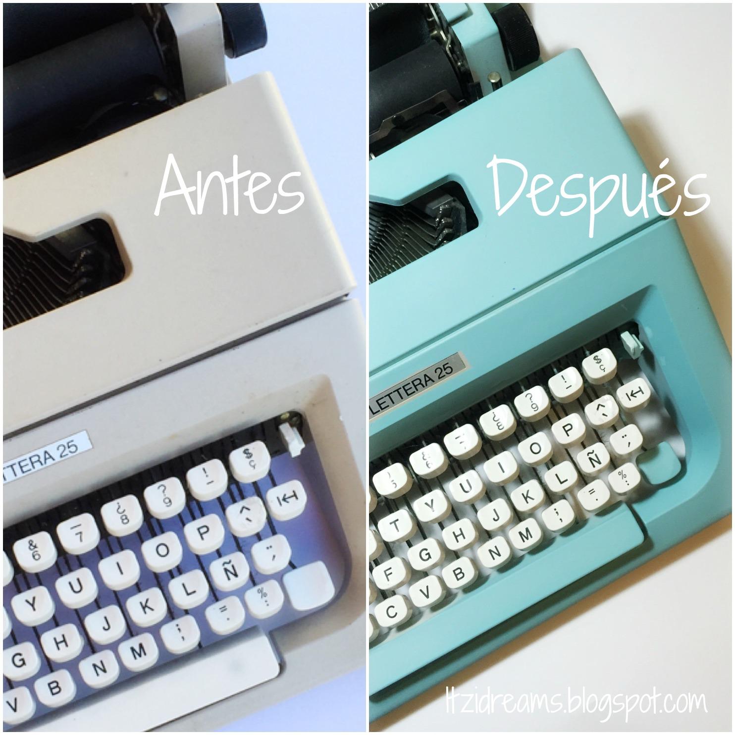 írógép-chalkpaint