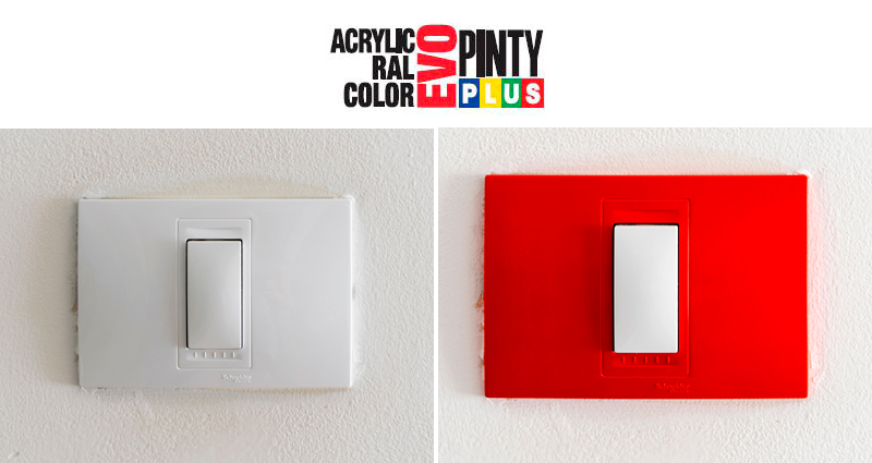 Cómo-pintar-los-interruptores-con-pintura-en-spray