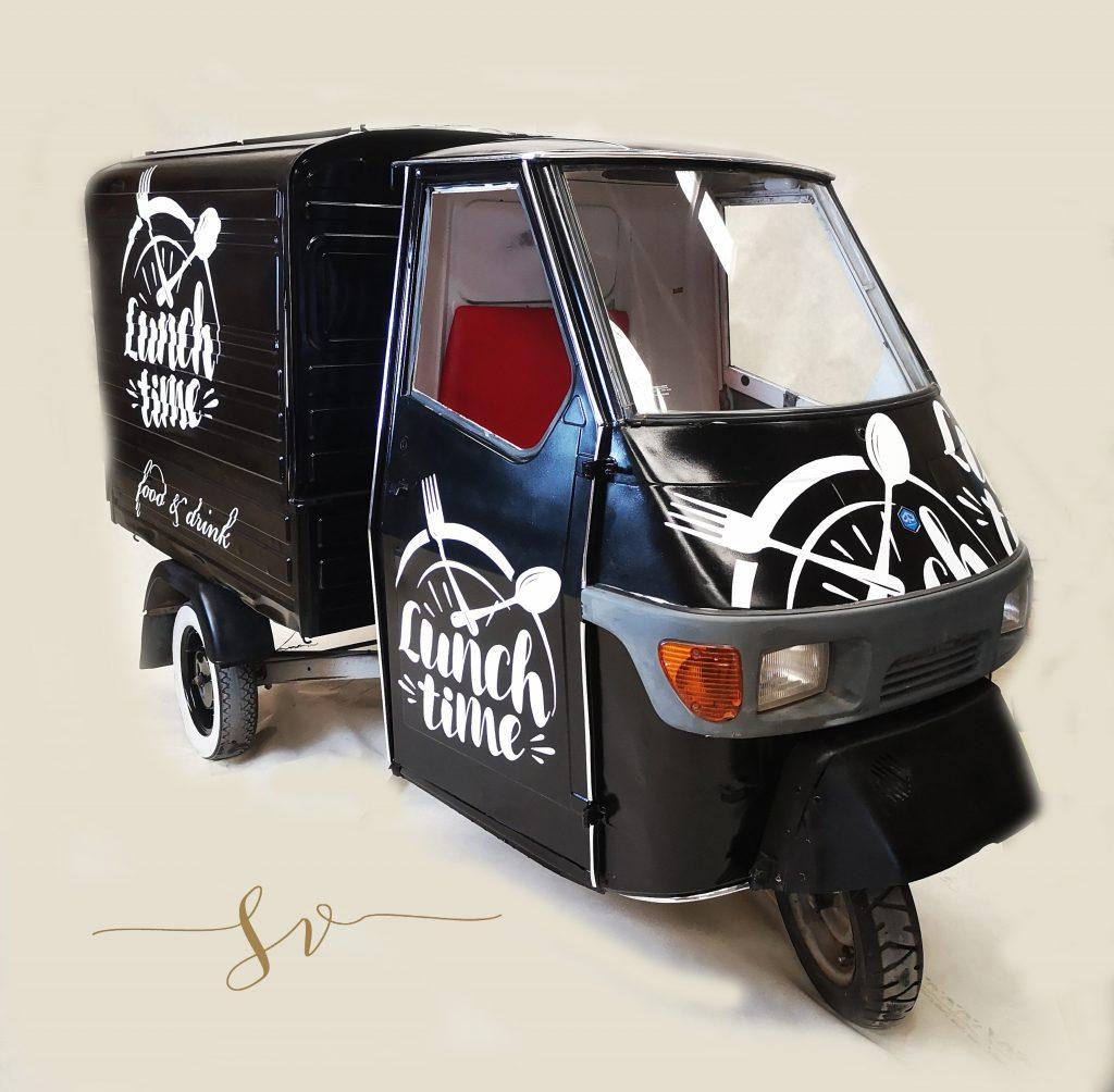 Piaggio háromkerekű autó