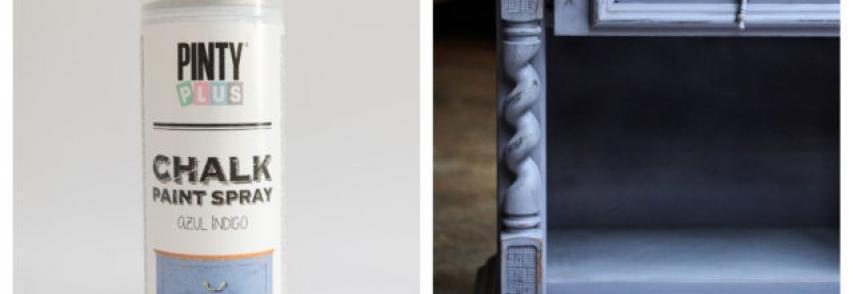 A PintyPlus Chalk finish spray színek