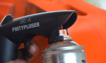 """""""Be a PintyPluser"""" spray pisztoly"""