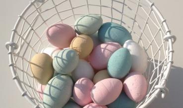 Húsvéti hungarocell tojás festés