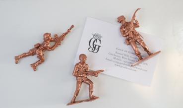 DIY mágneses játék katonák