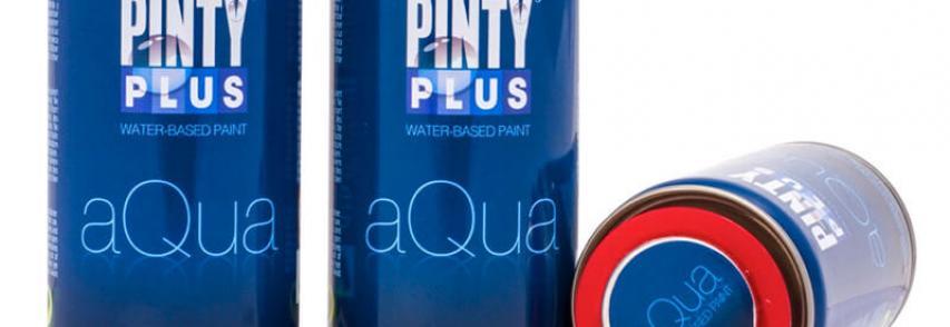 PintyPlus AQUA a vizes bázisú festék spray, amit Neked alkottunk meg