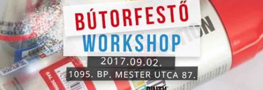 Bútorfestő Workshop a Mester utcában