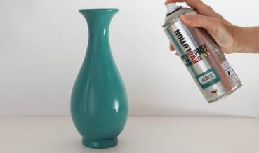 Porcelán festése spray festékkel